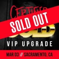 Mar 03 - Sacramento, CA (Certified Gold)