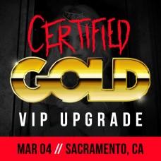 Mar 04 - Sacramento, CA (Certified Gold)