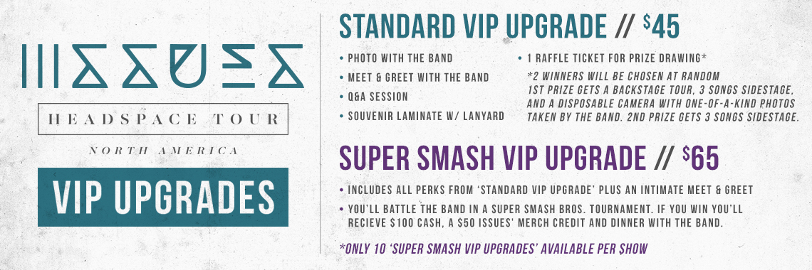 Issues VIP Upgrade